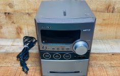 Sony Under Cabinet Radio Bluetooth Beautiful Sony Cmt Nez30 Micro Stereo System Cd Player Cassette Am Fm Radio Hi Fi Mp3