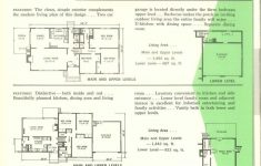 Split Level Floor Plans 1960s New Nps Multi Level Homes 1961