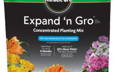 Square Foot Gardening Potting Soil Mix Walmart Elegant Miracle Gro Expand N Gro Concentrated Planting Mix 67 Cf Walmart