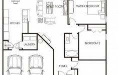 Two Bedroom House Plans With Garage New Beautiful Small House Plans Floor With Garage Two Bedroom