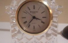 Waterford Crystal Clocks For Sale Best Of Waterford Crystal Clock Quartz Japan No Jewels Unadjusted