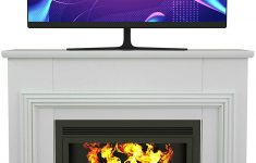 Well Universal Electric Media Fireplace New Amazon Alek…shop Multi Use Design Stand Unit Console W