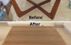 Wood Furniture Repair Atlanta Beautiful Before And After Refinished Walnut Wood Coffee Cocktail