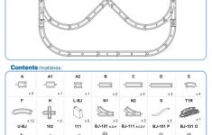 Wooden Train Set Instructions Elegant Wooden Railways Direct Track Layouts And Instructions