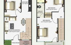 2 Bhk House Plan Design Fresh 15 X 40 With Images