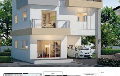 3 Storey House Design Beautiful House Design Plan 8x8m With 4 Bedrooms