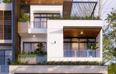 3 Storey House Design Beautiful Street House