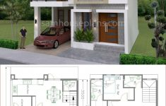 3 Storey House Design Unique House Plans 8x11m With 3 Bedrooms In 2020