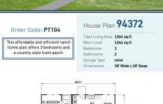 Affordable Ranch House Plans Inspirational Ranch Style House Plan With 3 Bed 2 Bath In 2020