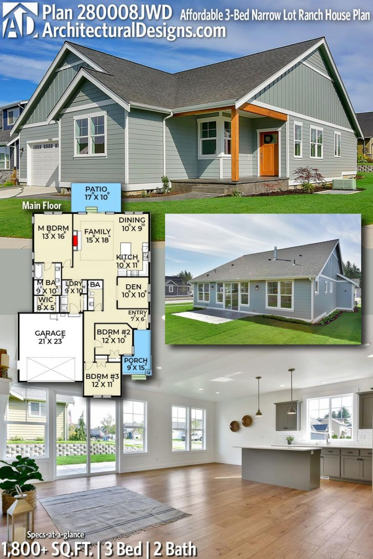 Affordable Ranch House Plans 2020