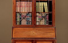 Antique Furniture Makers Directory Inspirational Exceptional Sheraton Style Bureau Bookcase C 1905 In 2020