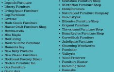 Antique Furniture Manufacturers List Unique Furniture Store Names 300 Brand Names For Furniture