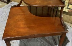 Antique Furniture Orange County Lovely Corner Table 29x29x28 In