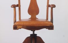 Antique Furniture Stores Columbus Ohio Awesome Oak And Leather Swivel Desk Chair By J S Ford Johnson