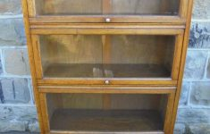 Antique Golden Oak Furniture Unique Antique Golden Oak Glazed Bookcase Antiques Atlas