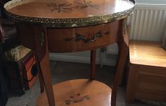 Antique Inlaid Wood Furniture Awesome Antique Inlaid Hall Table