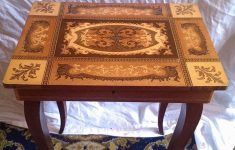 Antique Inlaid Wood Furniture New Antique Italian Musical Inlaid Side Table In Ng3 Nottingham