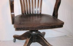Antique Office Furniture For Sale Beautiful Bankers Chair Vintage Heavy Wood From 1930 Or 40s Fice