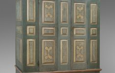 Antique Pennsylvania Dutch Furniture Luxury Wardrobe Schrank Artist Maker Unknown American