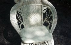 Antique Wicker Furniture For Sale On Ebay New Antique Reed Wicker Rocker W Rolled Arms Ram S Head Motif