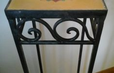 Antique Wrought Iron Furniture Best Of Vintage Wrought Iron Column Table Stand In Le12 Charnwood