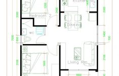 Basic House Plans Free Best Of Simple House Plans 6x7 With 2 Bedrooms Shed Roof House