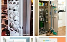 Behind Door Storage Cabinet Elegant 15 Ways To Use The Back A Closet Door For Storage And