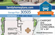 Carport Plans Attached To House Luxury Traditional Style 2 Car Garage Plan Number In 2020