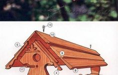 Cedar Bird House Plans Inspirational Bird Feeder Plans Outdoor Plans And Projects