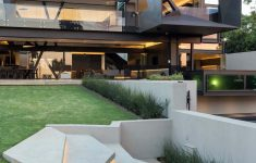 Concrete And Glass House Fresh Imposing Concrete Glass And Steel Residence In South Africa