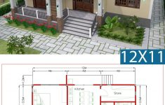 Design My House Plans Best Of Interior Design Plan 12x11m With Full Plan 3beds