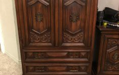 Free Antique Furniture Appraisal Elegant Vintage Armoire From United Furniture Corporation Antique