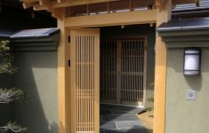 Front Gate With Roof Beautiful Japanese Style Entrance Gate Japanese Door