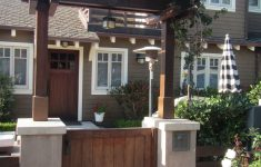 Front Gate With Roof Best Of Craftsman Gate & Arbor