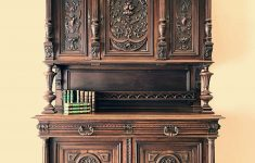 Furniture Buffets Sideboards Antiques Awesome Antique French Buffet Sideboard Walnut Heavily Carved Henri Ii Style Rf027