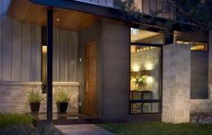 Home Entrance Ideas Contemporary Luxury Contemporary Ranch House Remodel Front Entrance Ideas With