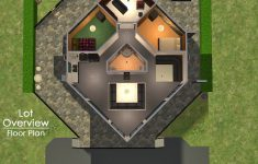 Home Planners Inc House Plans Beautiful Mod The Sims Hexagonal House Built From Rl Houseplans