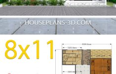 House Plan Designs With Photos Best Of House Design 8x11 With 3 Bedrooms Full Plans House Plans 3d