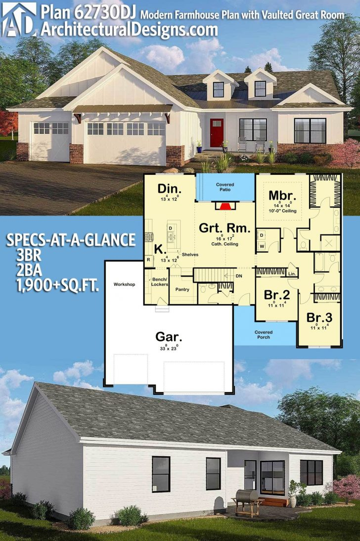 House Plans with Porches One Story 2020