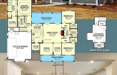 House Plans With Porches One Story Fresh Single Story Modern Farmhouse Open Floor Plans Beautiful
