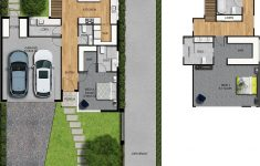 House Top View Design Beautiful 2d Colour Floor Plan And Site Plan 3 Bedroom 2 Level