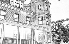 How To Draw A Pretty House Best Of E Point Perspective House Sketch