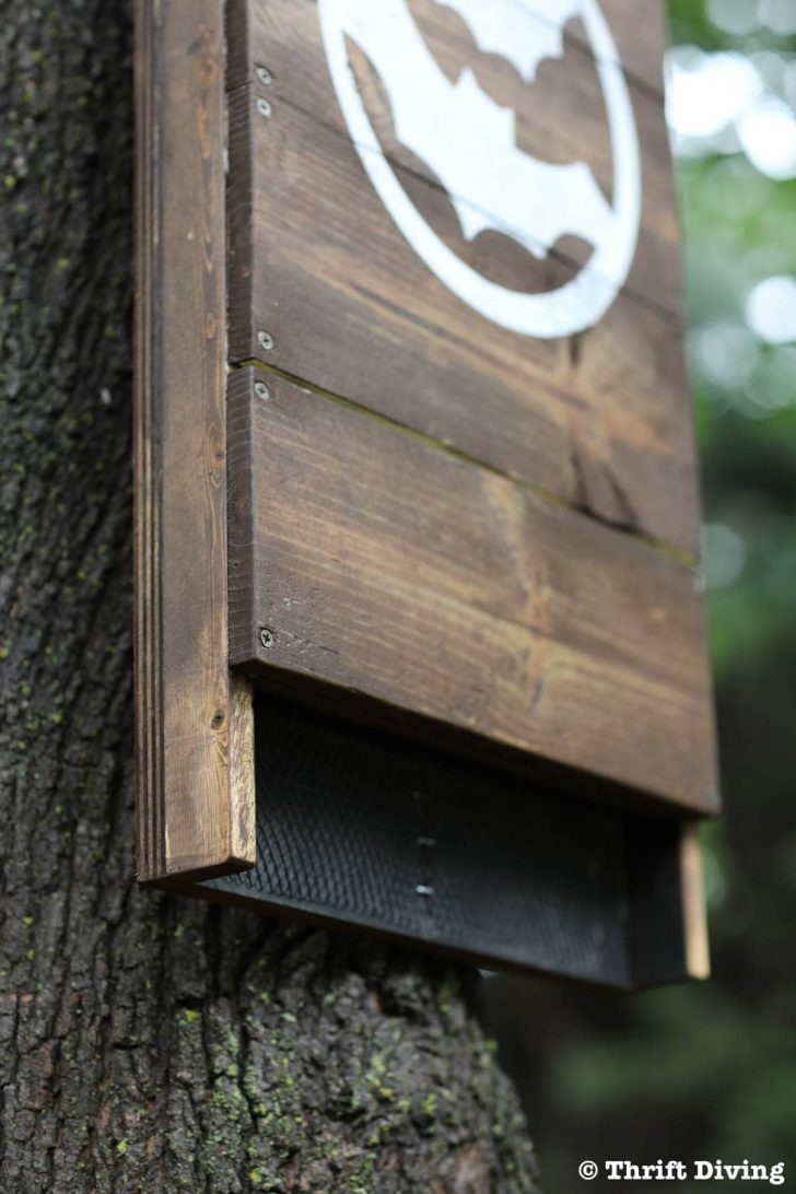 How to Make A Bat House Free Plans 2020
