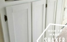 How To Make Shaker Cabinet Doors New The Easiest Way To Make Shaker Cabinet Doors