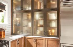 Kitchen Wall Cabinets With Glass Doors Inspirational Design Insights