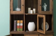 Living Room Cabinets With Doors Luxury Casa Padrino Country Style Brown Cabinet 130 X 50 X H 240