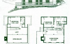 Log Cabin House Plans With Loft New Floor Plans For A Small Log Cabin