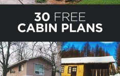 Log House Plans Free Luxury 30 Free Diy Cabin Plans & Ideas That You Can Actually Build