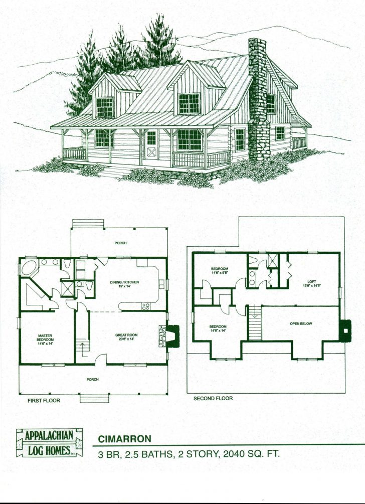 Log House Plans with Photos 2020
