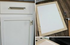 Make Shaker Cabinet Doors Beautiful Diy Shaker Cabinet Door Update